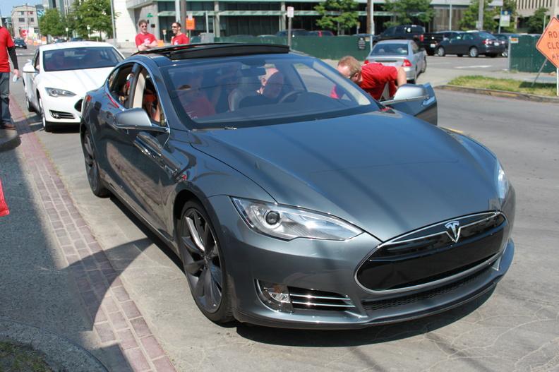 Tesla Model S Grey